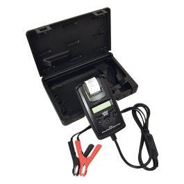 Batterietester mit Drucker