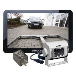 TRUCKMATE PRO S8110 Set inkl. Rückfahrkamera und Spannungswandler