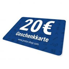 Geschenkkarte 20 Euro