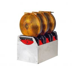 Geleidingsflitslampen, set van 3 stuks, Euro-Blitz Compact LED Synchroon