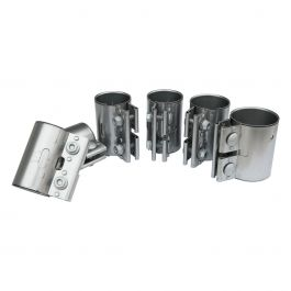 Exhaust gas pipe connector kit