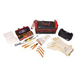 Verktøysveske med isolerte verktøy (1000 V)