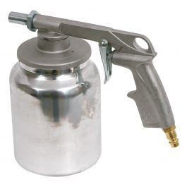 Pistola a spruzzo per rivestimenti di protezione telai