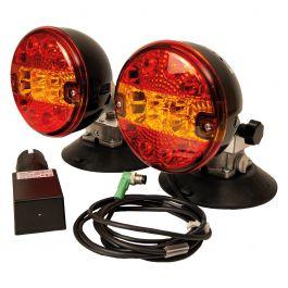 Radiostyrda LED-Baklampor