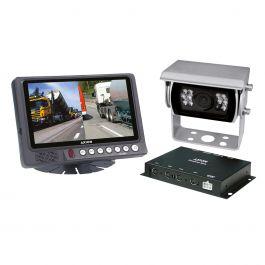 Kolorowy zestaw kamery cofania CRV 7000