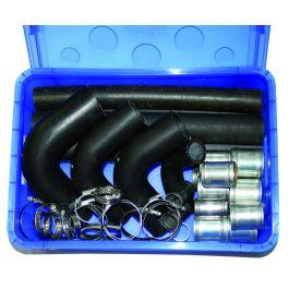 Radiator hose repair kit for HGVs