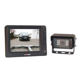 Kolorowy zestaw do kamery cofania CRV 5001