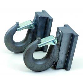 Hook module pair, galvanised