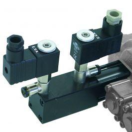 Sterowanie elektro-pneumatyczne 24V, do DCV 40/50