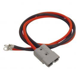 Zusätzliche Steckdose mit 1,5 m-Kabel und Kabelschuhen