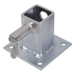 Hållare för flakmontage, galvaniserad