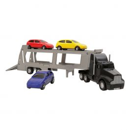 Portautomóviles con 3 coches