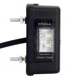 LED-Kennzeichenleuchte mit Flachkabel