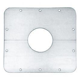 Monteringsplate, firkantet 240 x 260mm Light