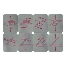 Set Beschriftungssymbole
