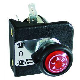 Alarm pull/turn switch