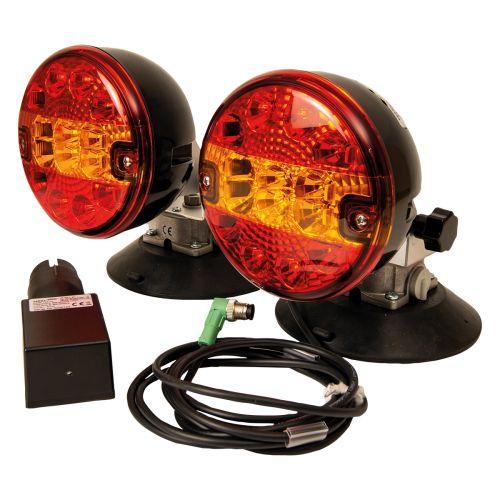 Bezprzewodowe sterowane radiowo tylne światła LED